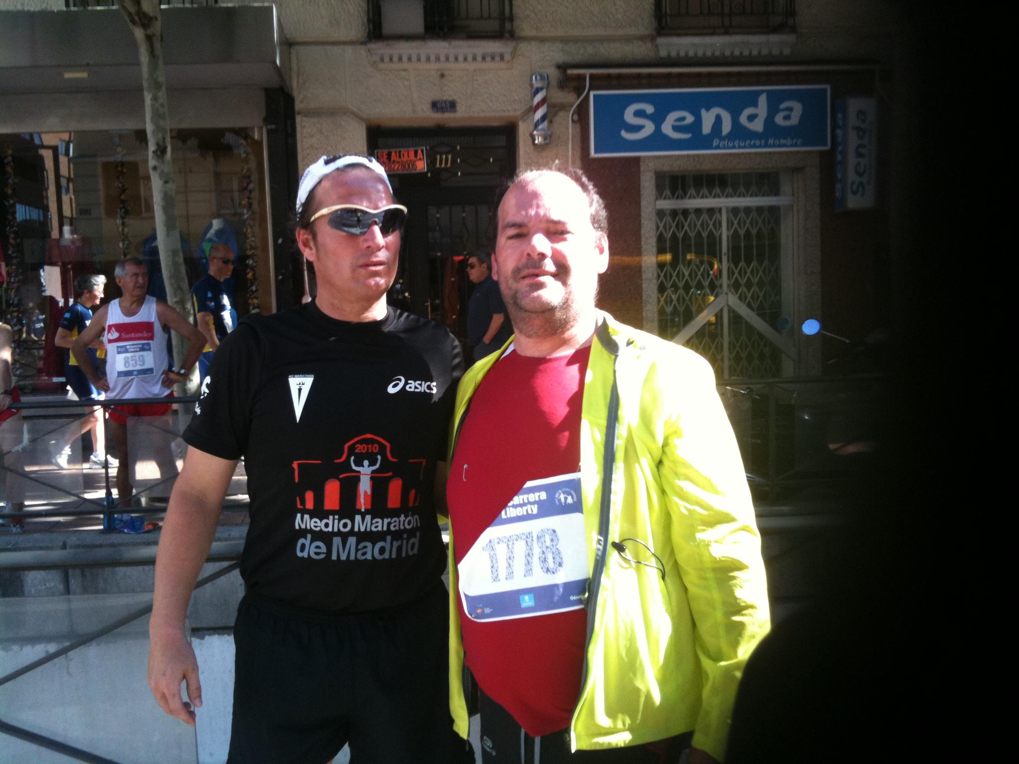 """De esa """"guisa"""" me presenté a correr mi primer 10k. Era un último de Mayo, de 2010, e hice un """"tiempazo"""" de 1:03."""