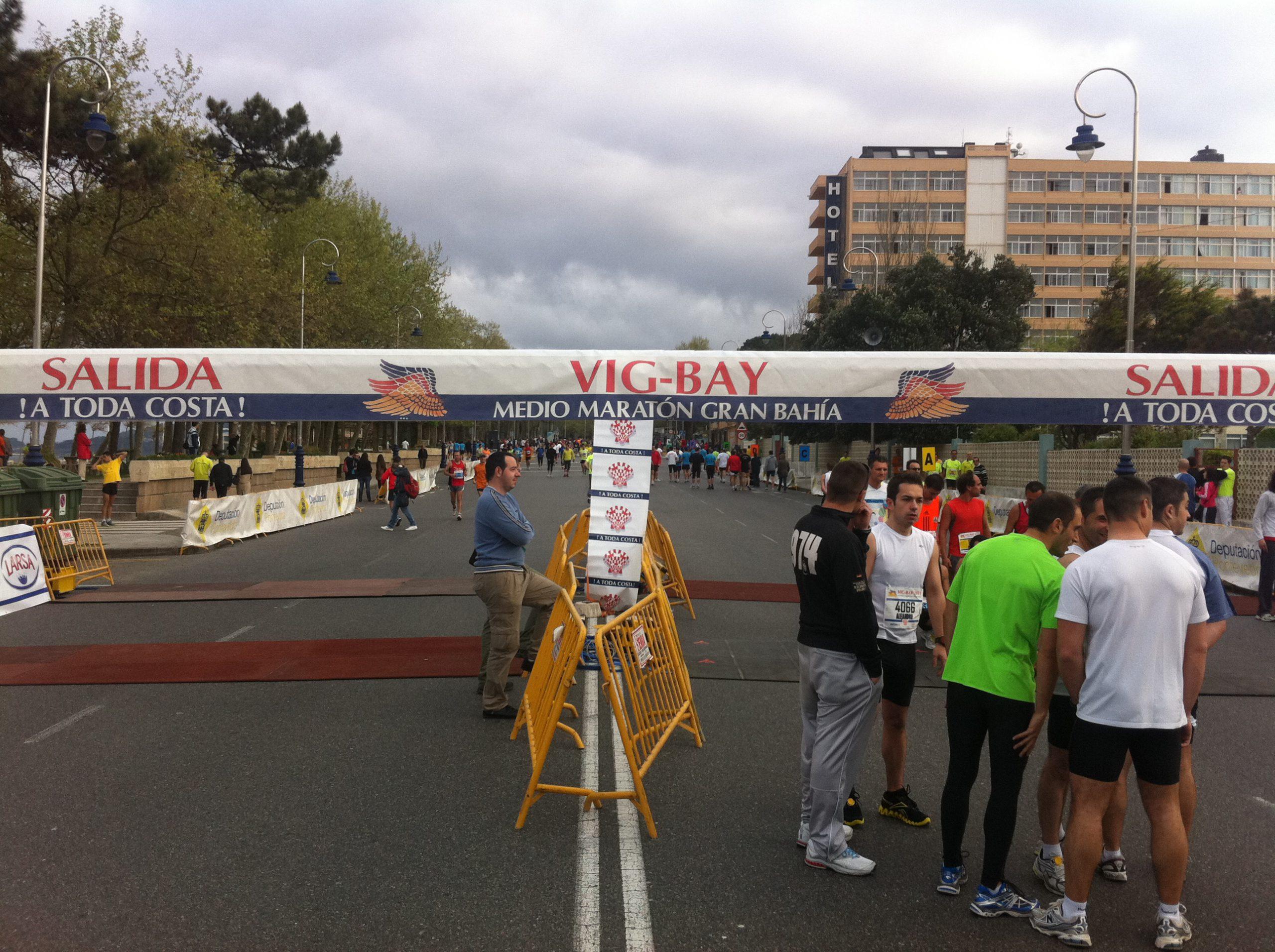 Vig-Bay 2011: La Media Maraton mas bonita de España