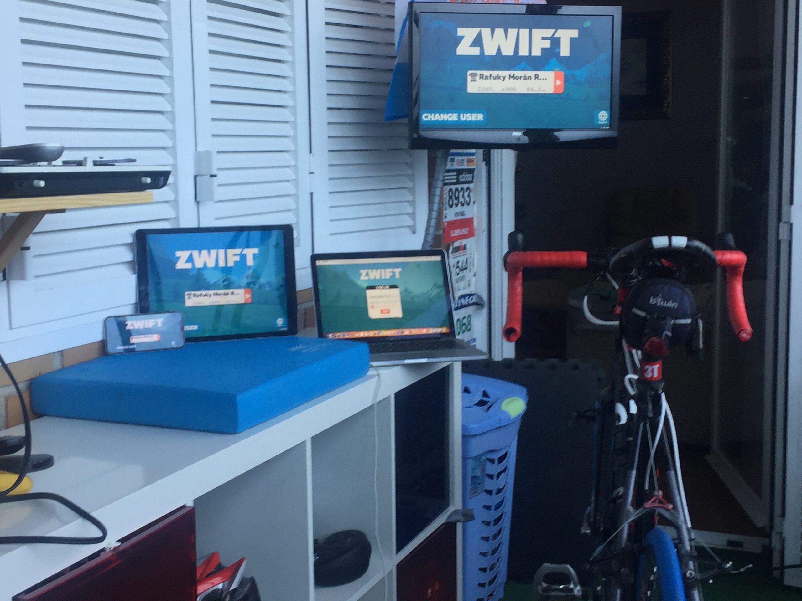 Zwift, algo más que hacer rodillo